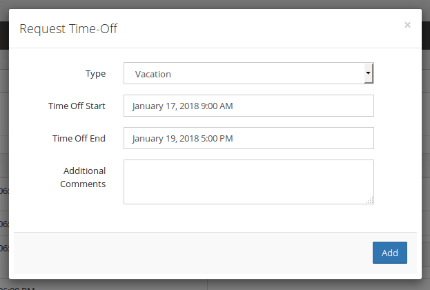 Time-Off Request Manager